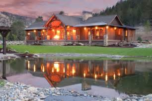 House Plans Rambler keystone ranch home brasada ranch style homes rustic