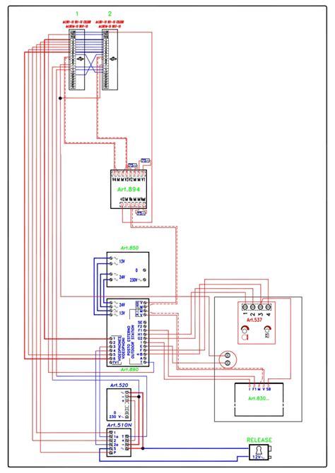 basic intercom wiring diagram 28 images videx basic