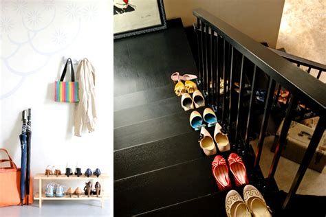 organizing shoes in small spaces rl