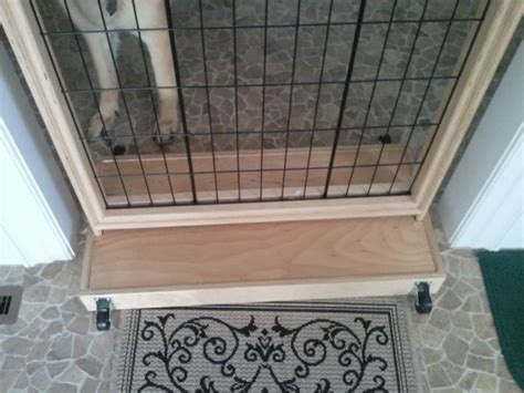 dog gate construction ideas woodworking talk