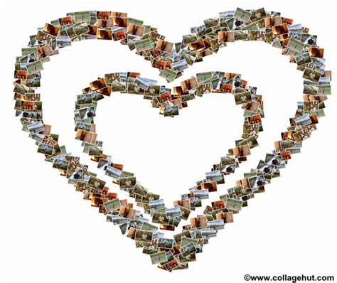 shape pattern collage types of collage for a customized photo collage design at