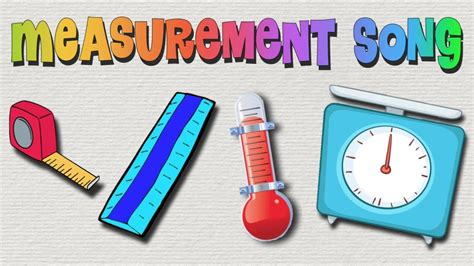 a for all time measurements measurement song