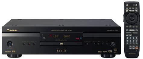 Speaker Dvd dv 79avi elite dvd audio and sacd player with i link and hdmi output pioneer of canada