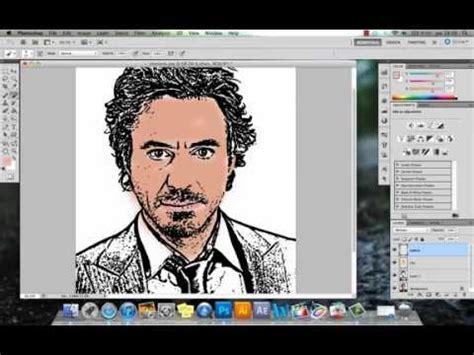hacer imagenes vectoriales photoshop photoshop hacer caricatura una imagen parte 1 youtube