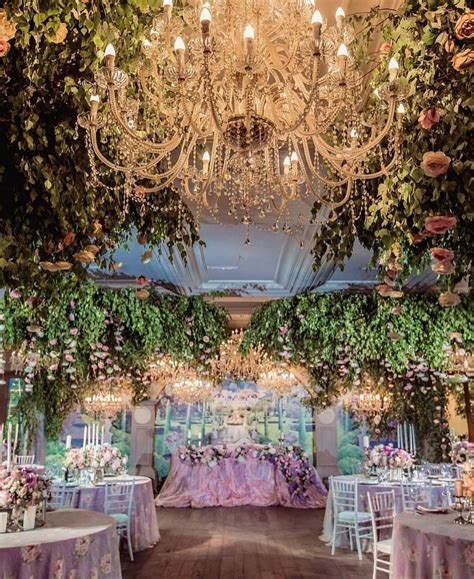 what about taking enchanted forest to an indoor wedding reception yes we are swooning