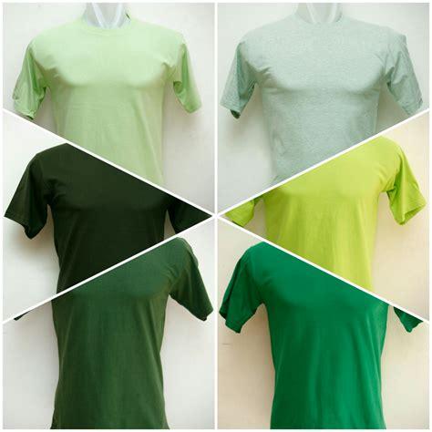 Kaos Hijau Mint Termurah kaos polos hijau til dalam nuansa yang harmonis grosir kaos polos murah dan terlengkap