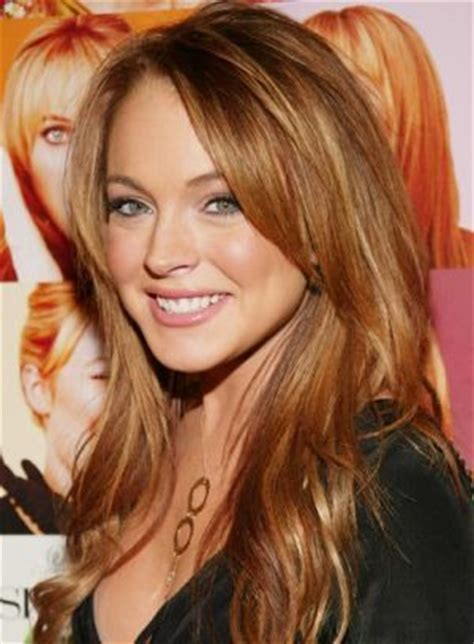 celebrities with auburn hair and are young celebrity hair color addicts copper lindsay lohan and
