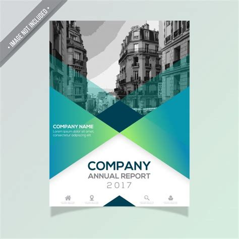 corporate annual report template annual report template vector free