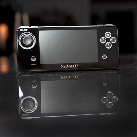 neogeo console neo geo x gold limited edition retro gaming