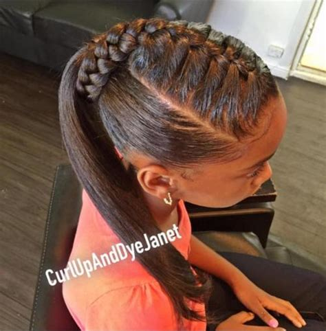 Kid Ponytail Hairstyles by Braids For 40 Splendid Braid Styles For