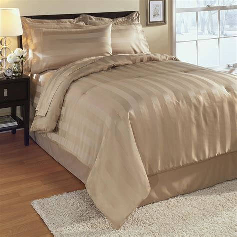 cannon damask 3 pc stripe comforter mini set