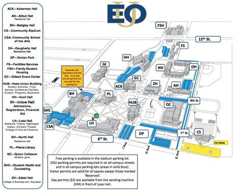 parking map of oregon parking services facilities and planning