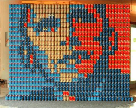 How To Build A Canned Food Sculpture by Big Chuck To Judge Canstruction This Sunday At The