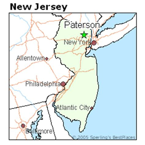 map of paterson new jersey best places to live in paterson new jersey