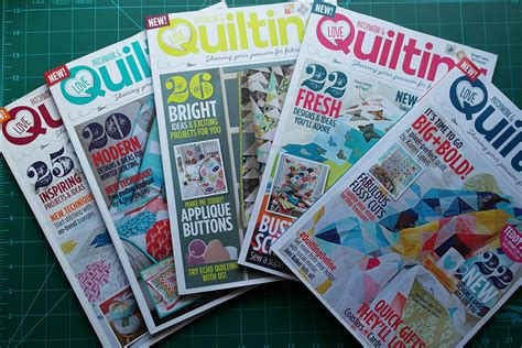 Quilting And Patchwork Magazine - patchwork and quilting review and special trial