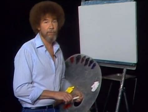 painting pbs pbs painter bob ross moving remix tribute design