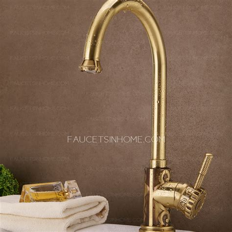 Expensive Bronze Carved Kitchen Sink Faucets Vessel Mount Expensive Kitchen Faucets