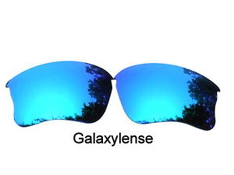 galaxy replacement lenses for oakley flak jacket xlj ice