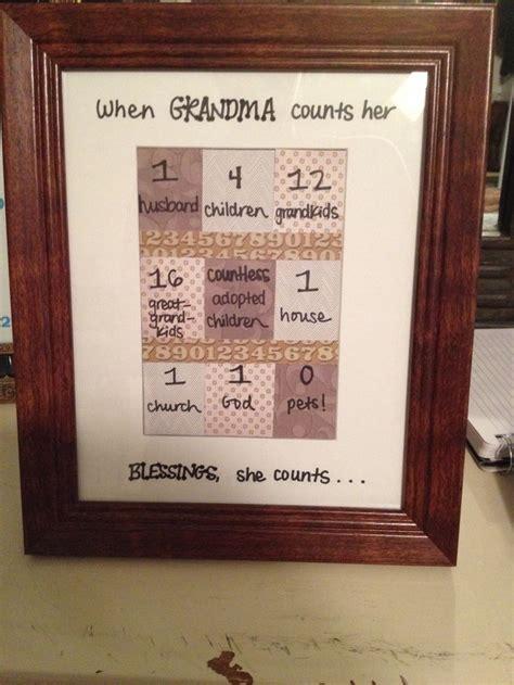craft  grandmas birthday create birthday presents