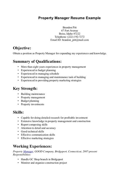 communication skills on resume sle free resume templates
