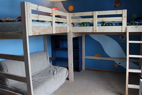 Ikea Twin Loft Bed by Double Loft Beds On Pinterest Queen Loft Beds