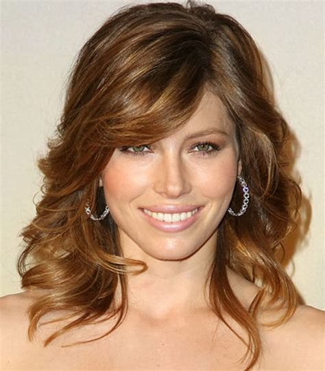 hairstyles for fine wavy hair with bangs 2017 2018