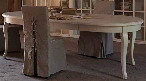 tavoli ovali bianchi tavolo provenzale ovale allungabile mobili provenzali
