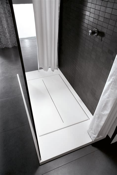 Platonic Shower by Walk In Shower Tray By Ideagroup