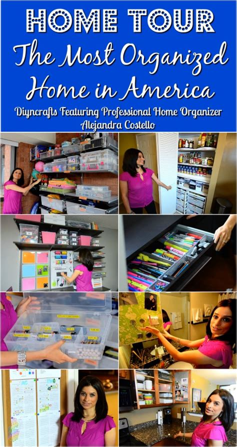 most organized home in america alejandra costello house tour meet the most organized