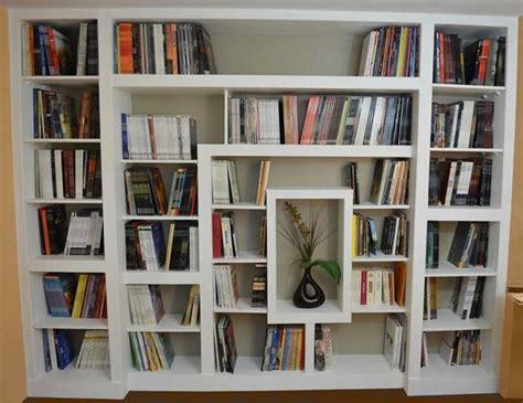 libreria in gesso come realizzare una libreria in cartongesso oggetti di
