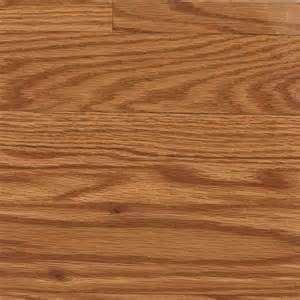 shop allen roth gunstock oak wood planks laminate flooring sle at lowes com