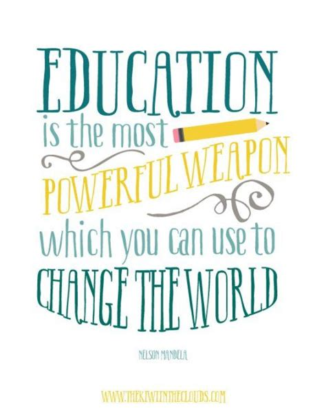 printable quotes about change free classroom printable quote nelson mandela quote