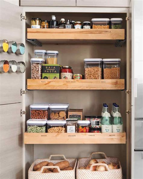 kitchen storage idea get organized with these 25 kitchen storage ideas
