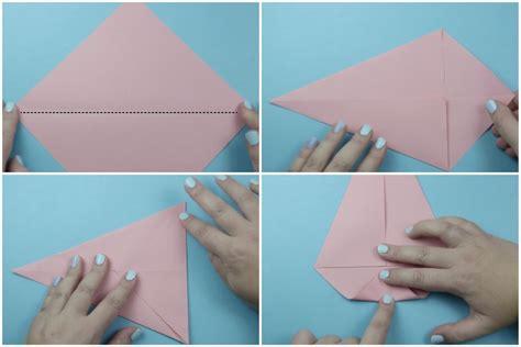 Origami Cake Box - origami cake box tutorial