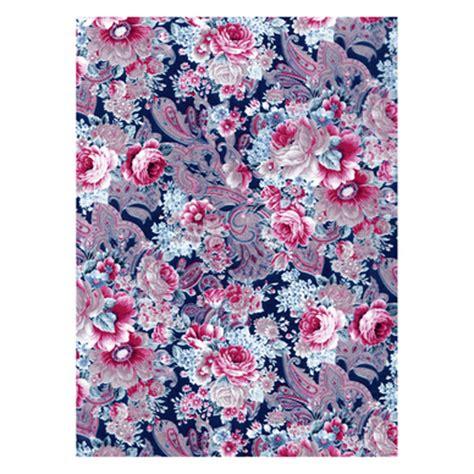 Tapisserie Florale by Papier D 233 Copatch 30 X 40cm 592 Tapisserie Florale