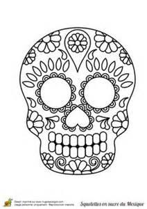 Un Squelette En Sucre Du Mexique Avec Une Petite Moustache