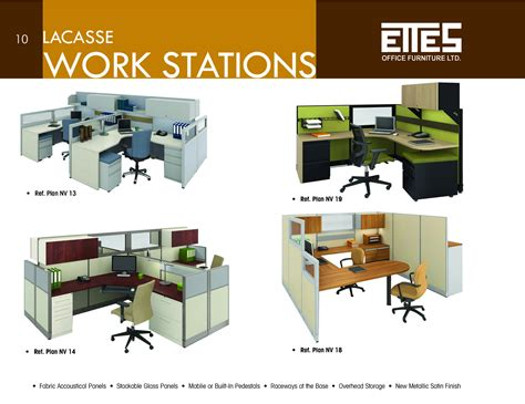 ettes office furniture brochure 2011