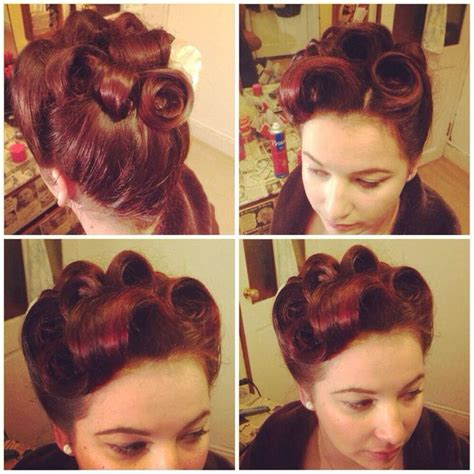 50s style updo 50s style hair updos www pixshark com images galleries