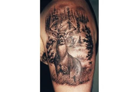 trophy tattoos deer outdoor canada
