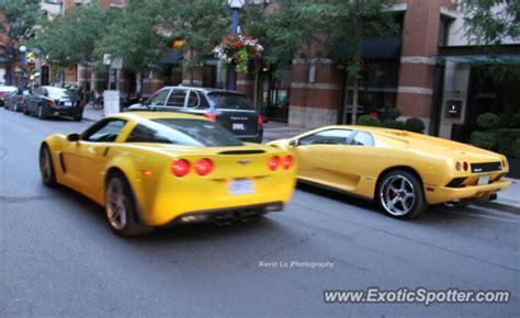 Lamborghini Canada Lamborghini Diablo Spotted In Toronto Canada On 10 07 2012