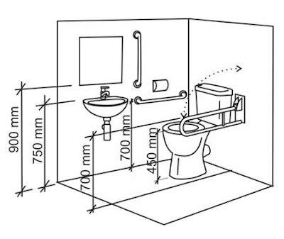 dimensions for wheelchair accessible bathroom wheelchair access penang toilet wc for disabled people