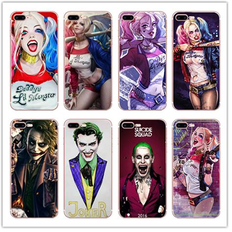 Casing Hp Htc One M10 Harley Quinn And Joker X4652 popular harley quinn covers buy cheap harley quinn covers lots from china harley quinn covers