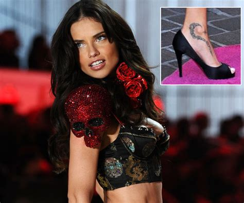 adriana lima tattoo 5 with amazing tattoos and design ideas that look