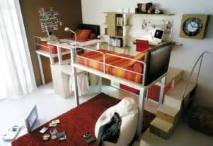 Bunk Bedroom Ideas Cool Loft Children Bedroom Designs From Tumidei Small Loft