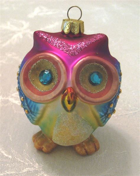 owl ornament give a hoot pinterest
