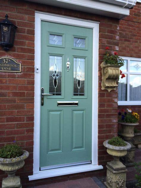 rok doors composite doors - Pale Green Composite Front Door