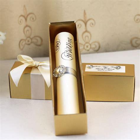 Paper Scroll Wedding Invitations by Wedding Invitation Scroll Wedding Ideas
