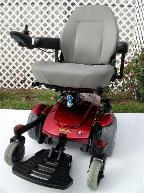 jazzy power chair jazzy select 6 ultra wheelchair used power chairs