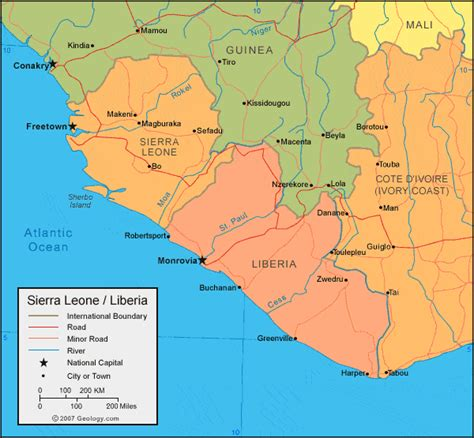 liberia map liberia map and satellite image