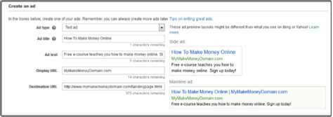 Make Money Online With Ads - how to make money with bing ads fast step by step
